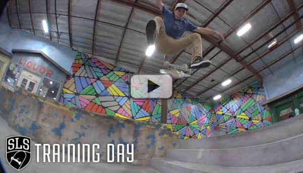Street League Training Day at The Berrics