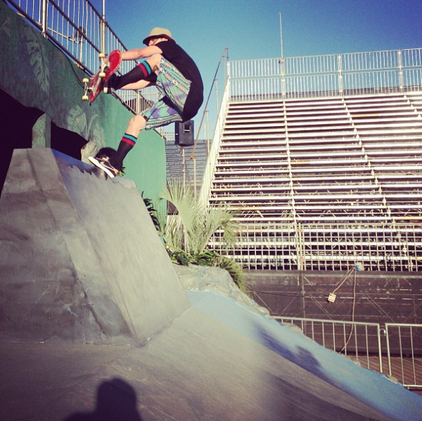 Follow Chris Cole on Instagram @chriscobracole